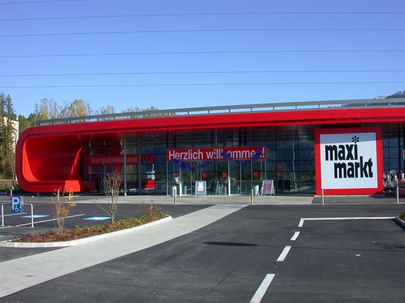 Maximarkt - Bruck/Glstr. Metallbau Obernosterer